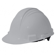 North A59 Peak Hard Hat - Plastic Suspension with Pinlock Adjustment - Grey