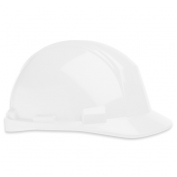 North A89R Matterhorn ANSI Type II Hard Hat - Ratchet Suspension - White