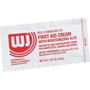 First Aid/Burn Cream .9 gm. - 10 per box