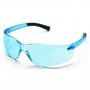 Crews BK113 BearKat Safety Glasses - Light Blue Temples - Light Blue Lens