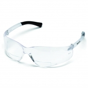 Crews BearKat Safety Glasses - Clear Temples - Clear Bifocal Lens