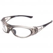 Bolle 40035 Boss Safety Glasses - Clear Frame - Clear Anti-Fog Lens