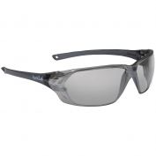 Bolle 40059 Prism Safety Glasses - Black Temples - Silver Mirror Polycarbonate Lens