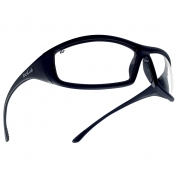 Bolle 40062 Solis Safety Glasses - Black Temples - Clear Anti-Fog Lens