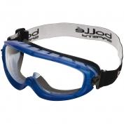 Bolle 40092 Atom Goggles - Blue Frame - Clear Anti-Fog Lens