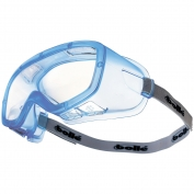 Bolle 40101 Coverall  Autoclave Goggles - Translucent Blue Frame - Clear Sealed Lens