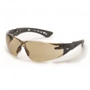 Bolle 40209 Rush+ Safety Glasses - Black/Grey Temples - CSP Anti-Fog Lens
