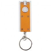 Brilliant Solutions White LED Keychain with Battery