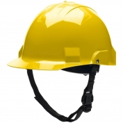Bullard A1YLS Advent A1 Type II Hard Hat - Ratchet Suspension - Yellow
