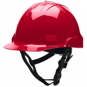 Bullard A2RDS Advent A2 Type II Hard Hat - Ratchet Suspension - Red