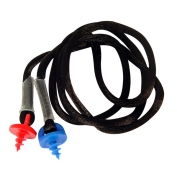 Radians CEPNC Custom Molded Earplugs Neckcord with Screws - Black