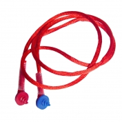 Radians CEPNC Custom Molded Earplugs Neckcord with Screws - Red