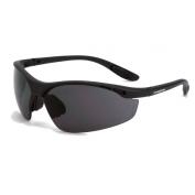 CrossFire Talon Safety Glasses - Black Frame - Smoke Bifocal Lens