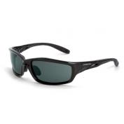 CrossFire Infinity Safety Glasses - Black Frame - Smoke Lens
