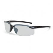 CrossFire ES5 Safety Glasses - Black Frame - Indoor/Outdoor Mirror Lens
