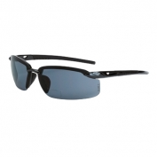 CrossFire ES5 Safety Glasses - Black Frame - Smoke Polarized Bifocal Lens