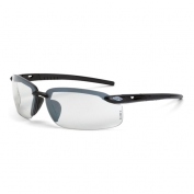 CrossFire ES5 Safety Glasses - Gray Frame - Clear Lens