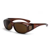 CrossFire OG3 Safety Glasses - Brown Lens - Fits Large to Extra Large Glasses