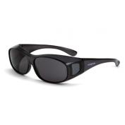 CrossFire OG3 Safety Glasses - Smoke Lens - Fits Large to Extra Large Glasses
