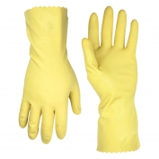 CLC 2300 Yellow Latex Cleaning Gloves - Single Pack
