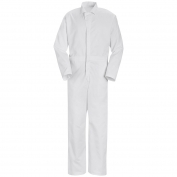 Red Kap Twill Action Back Coveralls - No Breast Pockets