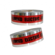 CAUTION BURIED ELECTRIC LINE BELOW - Detectable Underground Warning Tape