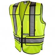 DeWalt DSV421 Class 2 Adjustable Breakaway Mesh Safety Vest - Yellow/Lime