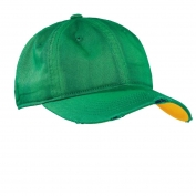 District DT615 Sun Bleached and Distressed Cap - Green