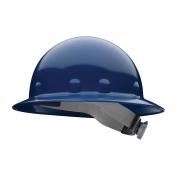Fibre Metal E1RW Full Brim Hard Hat - Ratchet Suspension - Dark Blue