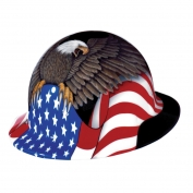 Fibre-Metal Spirit of America Full Brim Hard Hat