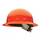 Fibre Metal E1SW Full Brim Hard Hat - SwingStrap Suspension - Orange