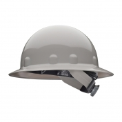 Fibre Metal E1SW Full Brim Hard Hat - SwingStrap Suspension - Gray