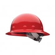 Fibre Metal E1SW Full Brim Hard Hat - SwingStrap Suspension - Red