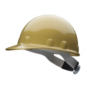 Fibre Metal E2RW Hard Hat - Ratchet Suspension - Gold