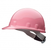 Fibre Metal E2RW Hard Hat - Ratchet Suspension - Pink
