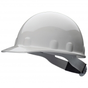 Fibre Metal E2RW Hard Hat - Ratchet Suspension - Light Gray