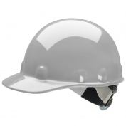 Fibre Metal E2SW Hard Hat - SwingStrap Suspension - Gray