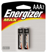 AAA Energizer Batteries, Max Line 2-pack