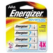 Energizer Advanced Lithium AA Batteries - 8 Pack