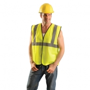 OccuNomix ECO-G Class 2 Value Solid Safety Vest - Yellow/Lime