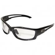 Edge SK111-AFT Kazbek Safety Glasses - Black Asian Fit Frame - Clear Lens