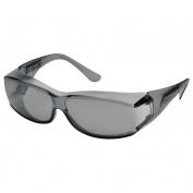 Elvex SG-57G OVR-Spec III Safety Glasses - Medium OTG Frame - Gray Lens