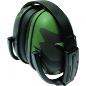 ERB 239 Foldable Ear Muffs - Green Camo