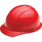 ERB 19824 Liberty Hard Hat - 4-Point Pinlock Suspension - Red