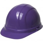ERB 19988 Omega II Hard Hat - 6-Point Ratchet Suspension - Purple