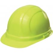 ERB 19990 Omega II Hard Hat - 6-Point Ratchet Suspension - Hi-Viz Lime