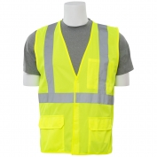 ERB S190 Class 2 FR Treated Safety Vest - Yellow/Lime