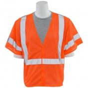 ERB S662 Class 3 Mesh Safety Vest - Orange