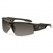 Ergodyne Dagr 52031 Safety Glasses - Black Frame - Smoke Polarized Lens