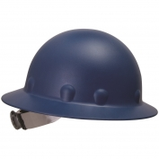 Fibre Metal P1ARW Full Brim Roughneck Hard Hat - Ratchet Suspension - Blue